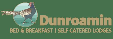 Dunroamin Pheasant Logo