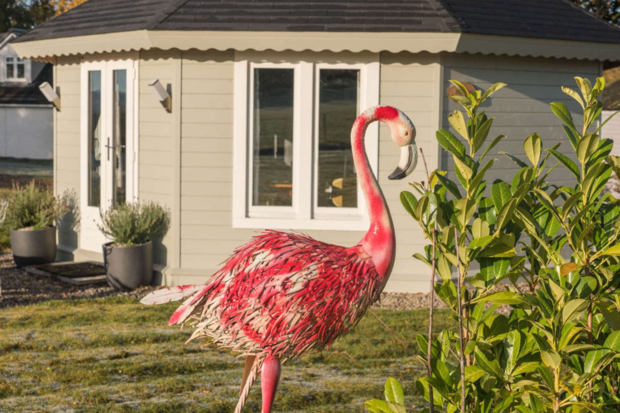 Dunroamin Self Catered Lodges - Flamingo